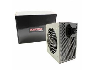 New Kentek 550W 120mm Quiet Fan ATX POWER SUPPLY Desktop PC Silver