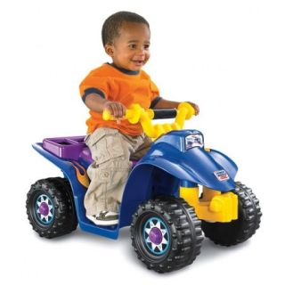 Fisher Price Power Wheels Lil' Quad 6 Volt Battery Powered Ride On