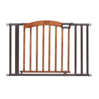 Summer Infant Decorative Wood and Metal 32 in. Pressure Mounted Gate 27070