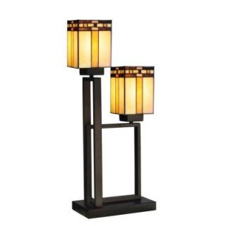 Radionic Hi Tech Tentelle 27.00 in. Bronze Hand Rolled Art Glass Table Lamp DT_TL_TT13193_RHT