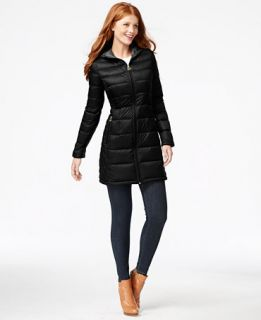 MICHAEL Michael Kors Hooded Packable Puffer Coat   Coats   Women