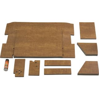 K & M Pre-Cut Cab Foam Kit — For International Harvester Tractors, Model# 4044  Tractor Cab Foam Interiors
