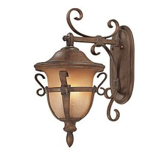 Kalco Tudor 3 Light Outdoor Wall Lantern; Textured Matte Black