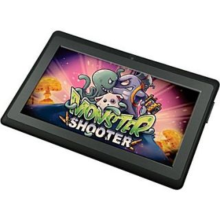 Worryfree Gadgets Zeepad 7DRK Rock, 7 Tablet, 8 GB, Android Jelly Bean, Wi Fi, Black