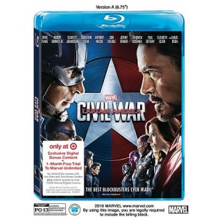 Marvels Captain America Civil War (3D/Blu ray/DVD + Digital HD