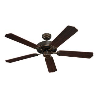 Sea Gull Lighting Quality Max 52 in Russet Bronze Downrod or Close Mount Indoor Ceiling Fan (5 Blade) ENERGY STAR