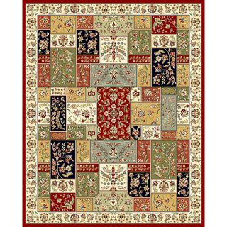 Safavieh Lyndhurst Collection Traditional Multicolor/ Ivory Rug (9 x