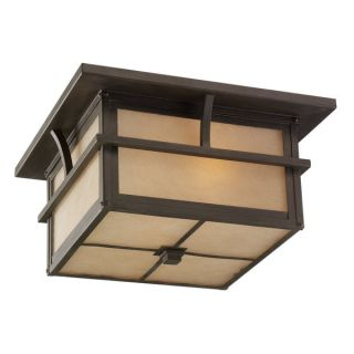 Sea Gull Lighting Medford Lakes 2 Light Close To Ceiling Outdoor Light
