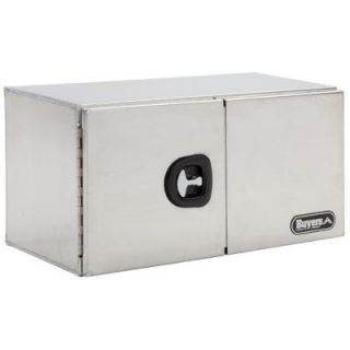 Buyers Products Company 60 in. Smooth Aluminum Double Barn Door Underbody Tool Box 1705345