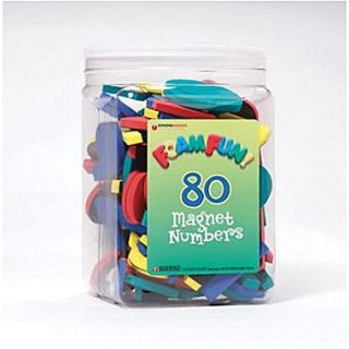 Dowling Magnets Foam Fun Magnet, Numbers