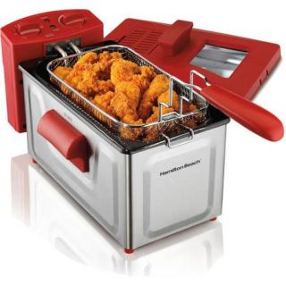 Hamilton Beach 2 Liter Deep Fryer, Stainless Steel
