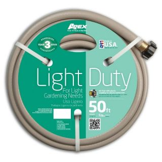 Apex 8400 50 Light Duty Garden Hose, 5/8 Inch by 50 FT
