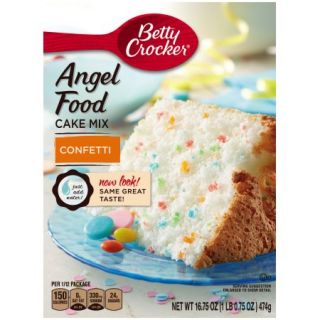 Betty Crocker® Angel Food Confetti Cake Mix 16.75 oz. Box