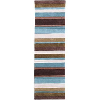 Surya Cosmopolitan COS8904 268 Hand Tufted Rug, 26 x 8 Rectangle