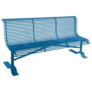 Rod Steel Bench by Leisure Craft