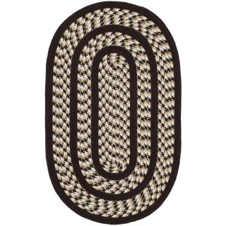 Safavieh Hand woven Reversible Braided Ivory/ Dark Brown Rug (26 x 4