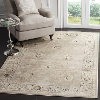 Safavieh Vintage Light Grey/ Ivory Rug (8 x 11)   16763117