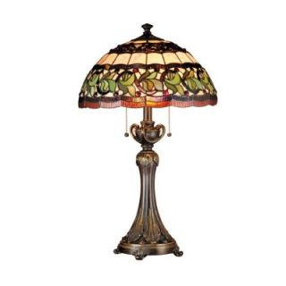 Radionic Hi Tech Tentelle 26.00 in. Bronze Hand Rolled Art Glass Table Lamp DT_TL_TT101110_RHT