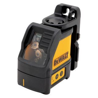 DEWALT Electronic Self Leveling Cross Line Laser, Horizontal and Vertical, Interior and Exterior   31CN23|DW088K
