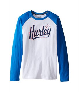Hurley Kids Athletic Raglan Tee (Big kids)