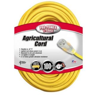 Coleman Cable All Weather Extension Cord