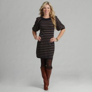 Jessica Howard Womens Striped Sweater Dress  ™ Shopping