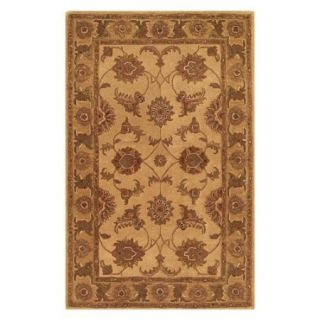 Noble House Imperial Area Rug   Beige/Gold