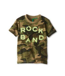 United Colors Of Benetton Kids Allover Camo Tee Shirt Toddler Little Kids Big Kids 718