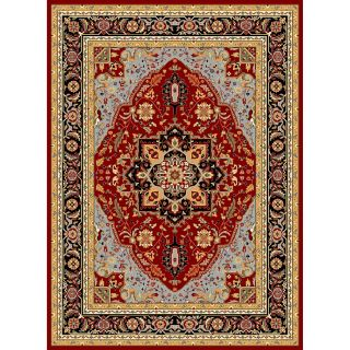 Safavieh Lyndhurst Mary Red & Black Area Rug