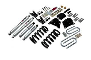1987 1998 Ford F 350 Lowering Kits   Belltech 942SP   Belltech Lowering Kit