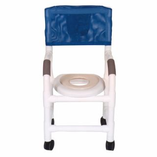 MJM International Standard Deluxe Small Adult Shower Chair