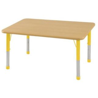 ECR4Kids 48'' x 30'' Rectangular Classroom Table