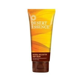 Desert Essence Natural Shea Butter Body Cream   6 fl oz