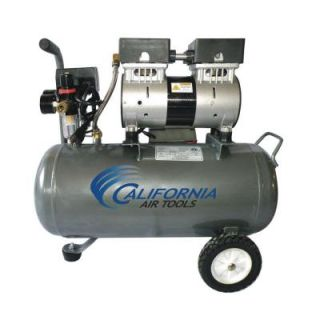 California Air Tools 6.3 gal. 1 HP Ultra Quiet and Oil Free Steel Tank Air Compressor 6310