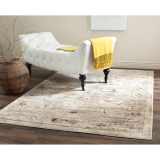 Safavieh Vintage Light Grey/ Ivory Rug (10 x 14)   17097329