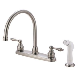 Kingston Brass KB728AL Satin Nickel Kb72 al Kitchen Faucet