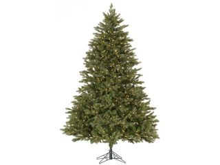 9' Pre Lit Balsam Fir Full Artificial Christmas Tree   Clear Dura Lit Lights