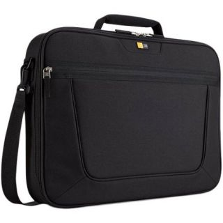 Case Logic 17.3 Clamshell Laptop Briefcase, Black