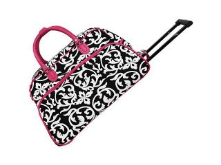 World Traveler Damask 21in. Rolling Duffel Bag