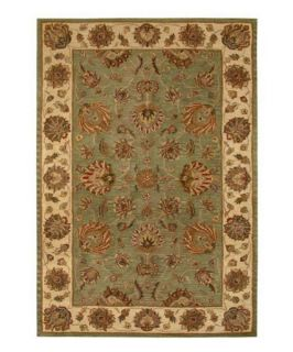 Safavieh Heritage HG343A Area Rug   Green/Gold   Area Rugs