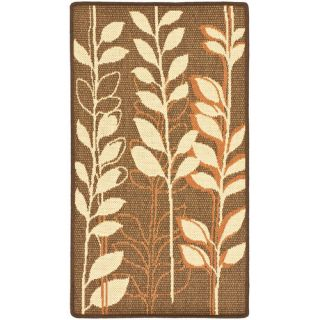 Safavieh Courtyard Brown Natural/Terracotta Rug