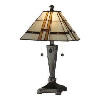 Radionic Hi Tech Tentelle 21.75 in. Bronze Hand Rolled Art Glass Table Lamp DT_TL_TT11051_RHT