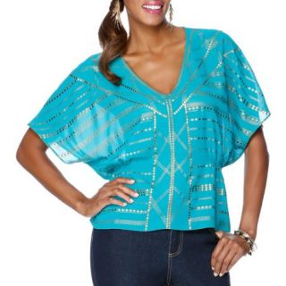 Miss Tina Womens Screenprint Kaftan