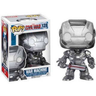 Funko Pop Marvel Captain America Civil War, War Machine