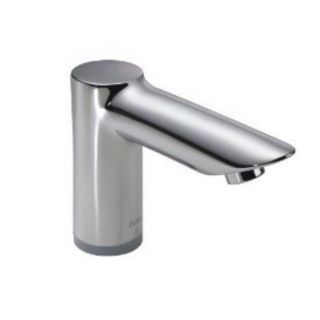 Delta 611T050 Single Hole Battery Operated Lavatory Faucet with Proximity Sensing Technology in Chrome