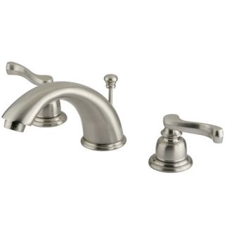Kingston Brass GKB968FL Satin Nickel Bathroom Faucet