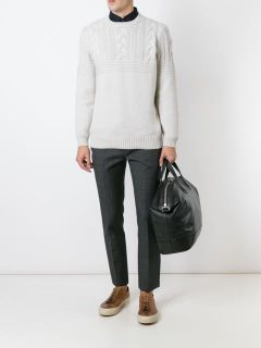 Brunello Cucinelli Cashmere Cable Knit Jumper   Spinnaker Alassio