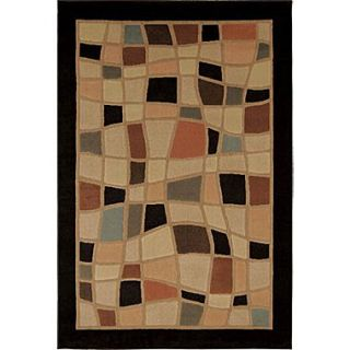 Home Dynamix Catalina Black Area Rug; 710 x 105