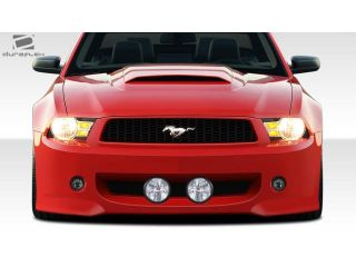 2010 2012 Ford Mustang Duraflex Eleanor Front Bumper Cover   1 Piece