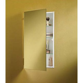 Nutone 869P24WHG Recessed Mount Cabinet with Glass Shelves